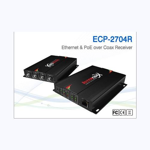 4 Channel Long Distance EOC Receiver / ECP-2704R