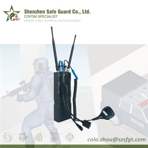 Police IP Video Audio MESH Networking Communication Radio