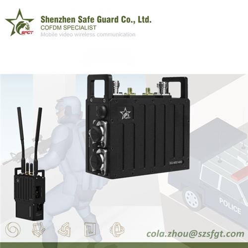 Tactical Military Robust Wireless Mobile IP MESH Networking Radio