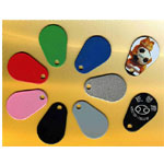 Water Drop GlassFiber KeyFobs