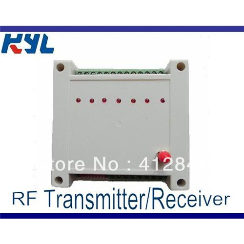 KYL-815 433MHZ 4-way Wireless I/O Module for wireless pump control 2km-3km distance ON-OFF Control