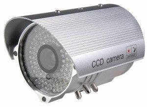 IR LEDS weatherproof camera
