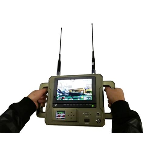 7 inch handheld COFDM wireless uav communication system