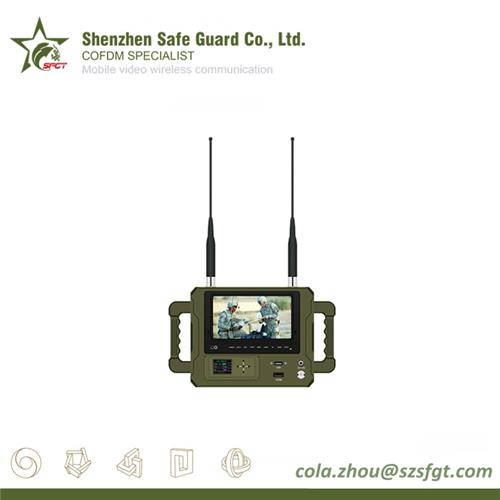 Portable Handheld COFDM Wireless Video Remote Receiver