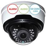 H.265 4MP PRO POE IP CAMERA, ALARM & AUDIO