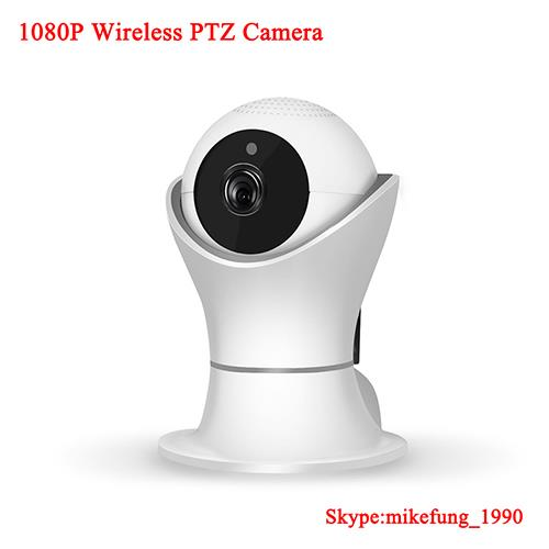 1080P Pan/Tilt Home Security Wireless WiFi  IP Camera with Two Way Audio for Baby Monitor