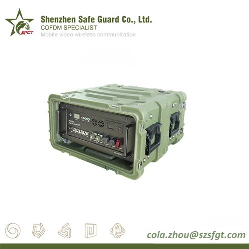High Power Rugged Long Range COFDM Wireless Video Audio Transmitter