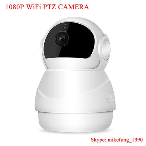 1080P Pan Tilt Home Security Wireless WiFi IP Camera for Baby Monitor