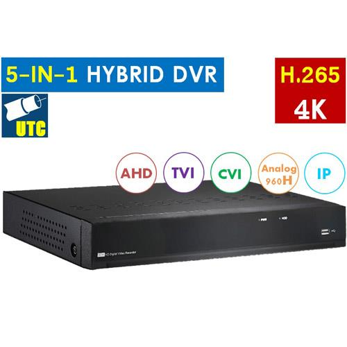 H.265 16CH HYBRID DVR (with Intelligent Analysis)