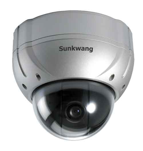 SK-V106/M143 P/T Vandal-proof Dome Camera