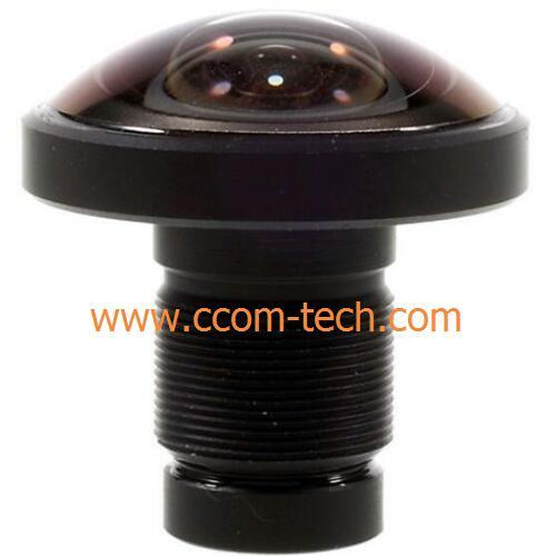 "1/2.33"" 1.2mm 16Megapixel S-mount 220degree Fisheye Lens for IMX117/IMX206/Gopro"