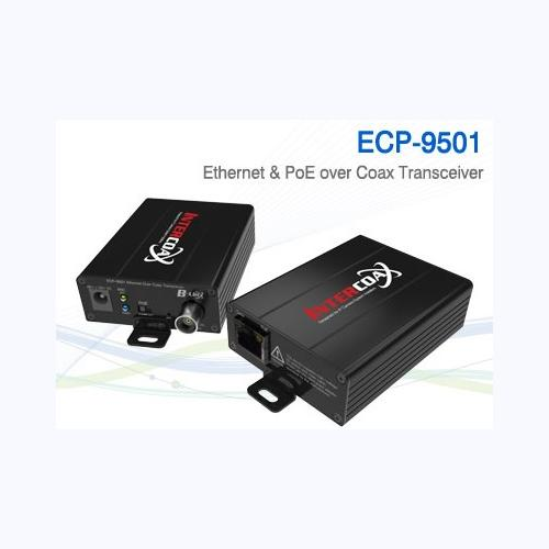 1Ch Ethernet over Coax/UTP Transceiver / ECP-9501