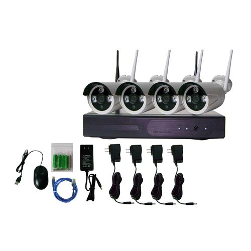 Wireless Nvr kit, Wireless IP System