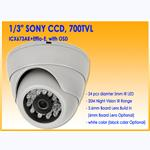 700TVL Plastic IR Dome Camera DIT20-70 $28.90