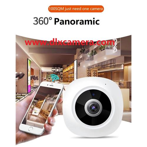3Mp Indoor 360degree Smart home P2P Wireless &wired SD audio video camera with APP