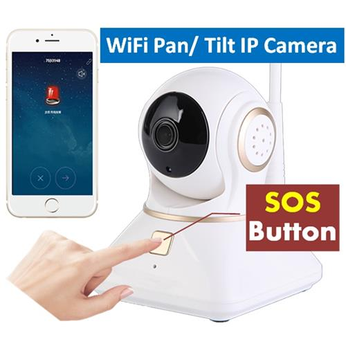 WiFi SOS PT IP Camera