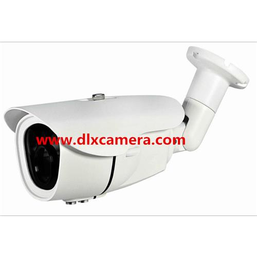 Outdoor water-proof 1080p 2MP POE IP bullet camera with Auto-iris motorized zoom lens