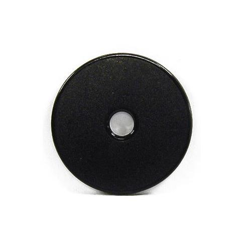 RFID ABS Coin Tag, OD30/ID5/T2mm, Available in Black, EM4200, 125kHz, Read Only
