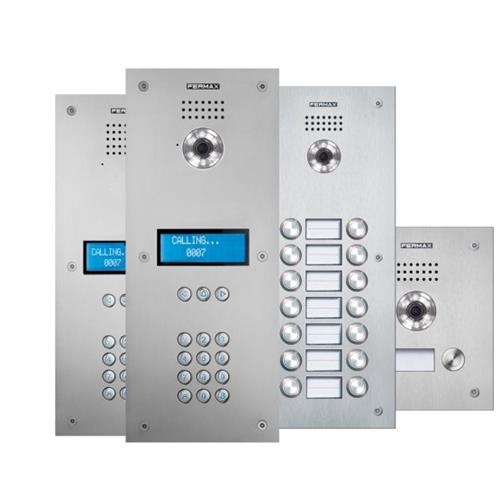 MARINE Anti-vandal Outdoor Panels (Stainless Steel Door Entry System)