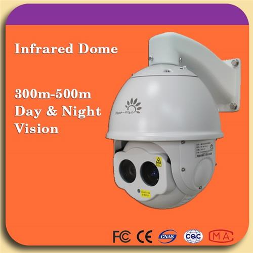 industry usage 300m night vision surveillance Infrared Laser Speed Dome ip camera