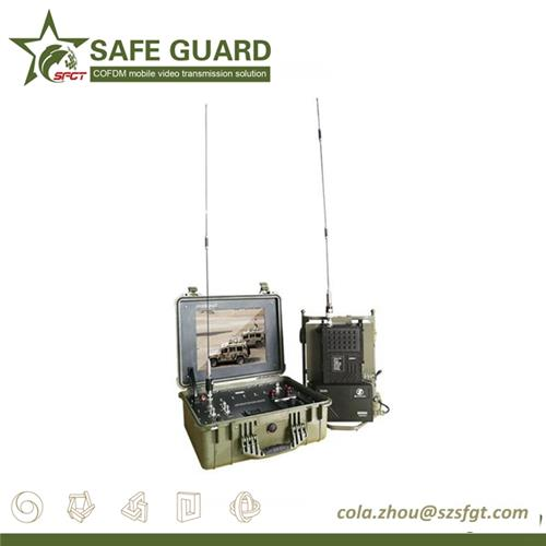 soldier communication wireless long range outdoor video audio data link