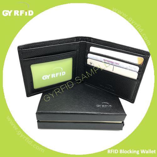 NFC Blocking Wallet to protect your cards information.
