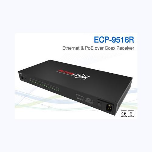 16 Ch Ethernet over Coax/UTP Receiver / ECP-9516R