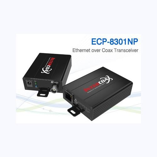 1 Ch Ethernet & PoE over Coax/UTP Transceiver / ECP-8301EP