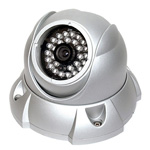 AVIRD-TDF40HQED Dual Power True Day & Night Dome IR Camera