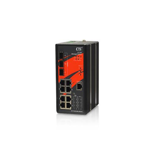 Industrial Managed PoE Switch IFS⁺803GSM-8PH24