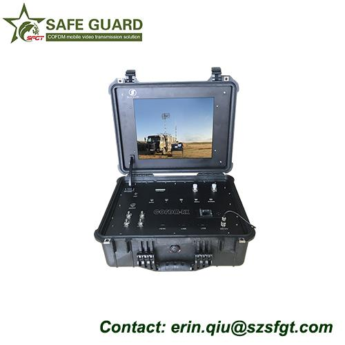 robot security guard ground station control video link