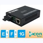 OT Systems EC1212: Econ-line 10/100/1000Base-TX to 100/1000Base-FX Ethernet Media Converter