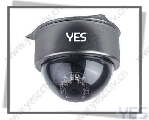 IR camera, Dome camera, Vandal resistance camera YES-8006