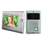 7 inch video door phone for villa(metal camera)