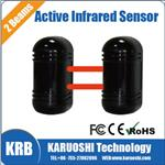 Photoelectric Beam detector, Outdoor two beam active infrared barrier