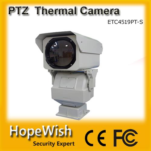 long range PTZ infrared night vision thermal camera