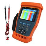 3.5 inch TFT-LCD CCTV Tester with PTZ controller and multimeter, video test