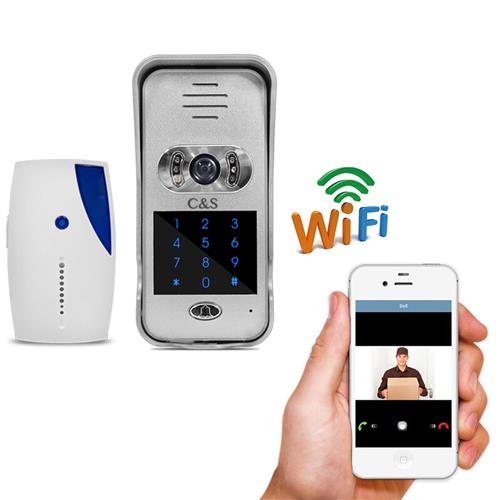 Wifi Remote Unlocking Digital Doorbell: CS-PH04