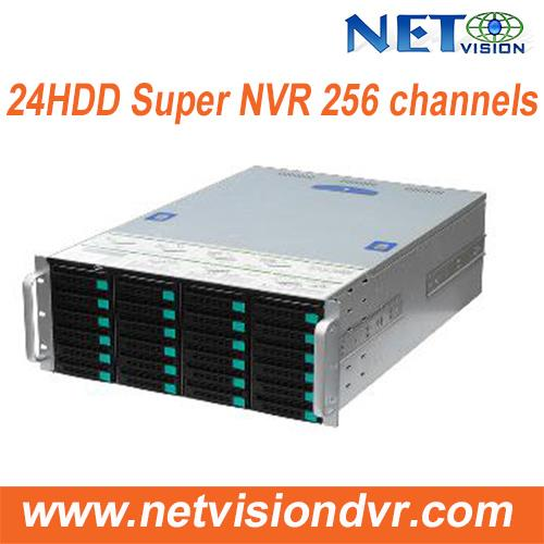 Multi-Channel NVR with Face Recognition-128 CH/ 256CH -NVSS8724