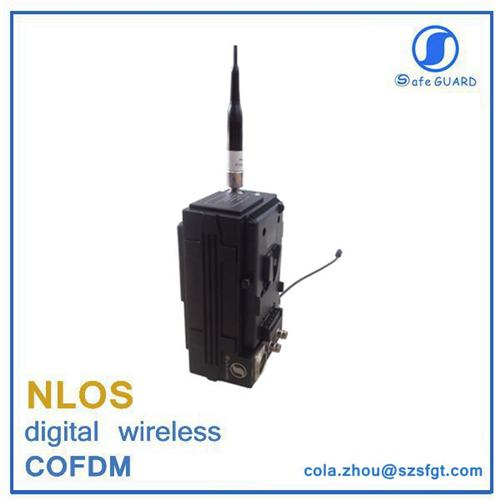 1080P HD AES 128 bits cofdm wireless video camera transmitter