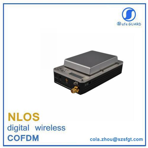 fpv mini COFDM nlos wireless video 20km digital transmitter