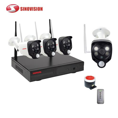 China factory Sinovision wholesale 1080P wireless PIR NVR kit for home security