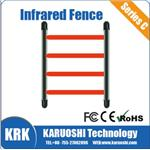Multi-beam infrared fence for door/window security