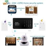 2015 New arrived, Work with IP cams  wifi alarm system