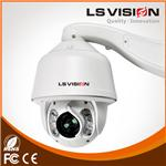 LS VISION 1080P 2Mp IP IR Speed Dome PTZ Camera