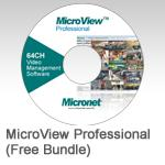 MicroView Professional, 64CH Video Management Software
