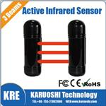 Photoelectric Beam detector, Outdoor three beam active infrared barrier