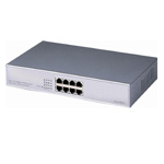 PS800 8-port 10M/100M Desktop PoE Fast Ethernet Switch