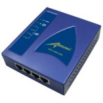 APL1400-200 UltraSpeed Series PowerLine Quad Ethernet NetBridge
