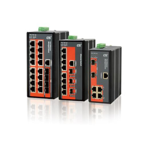 Industrial Managed Ethernet Switch - IFS-402GSM, IFS-803GSM, IFS-1604GSM